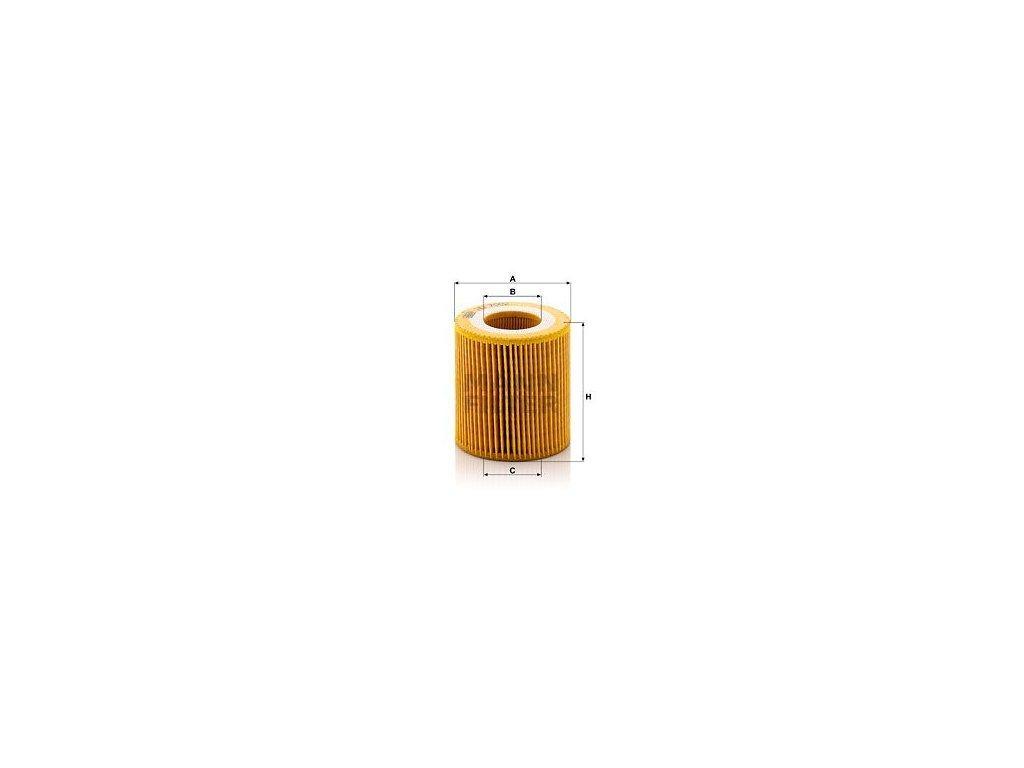 Olejový filtr MANN-FILTER HU 7002 z