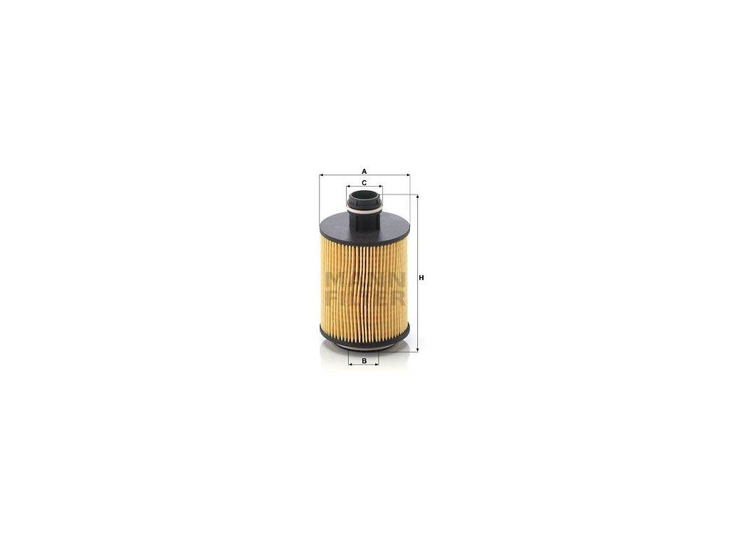 Olejový filtr MANN-FILTER HU 7004/1 x