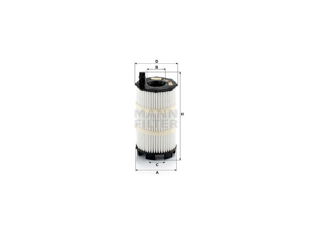 Olejový filtr MANN-FILTER HU 7005 x