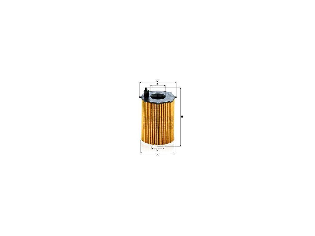 Olejový filtr MANN-FILTER HU 7006 z
