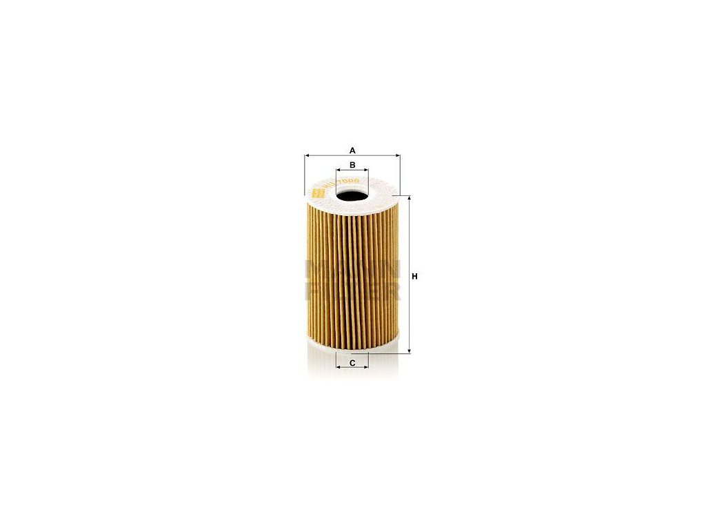 Olejový filtr MANN-FILTER HU 7008 z