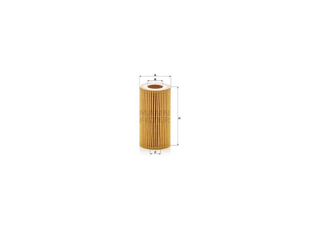 Olejový filtr MANN-FILTER HU 7012 z