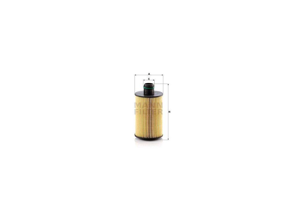 Olejový filtr MANN-FILTER HU 7018 z