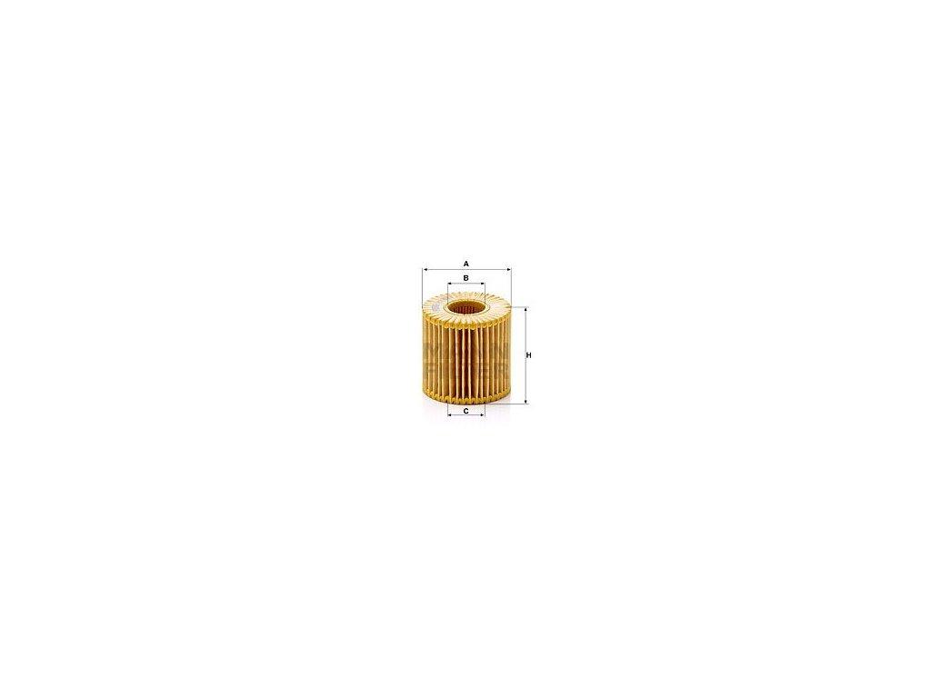 Olejový filtr MANN-FILTER HU 7019 z