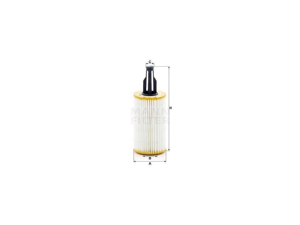 Olejový filtr MANN-FILTER HU 7025 z