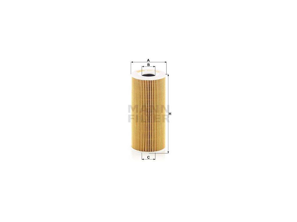 Olejový filtr MANN-FILTER HU 7026 z