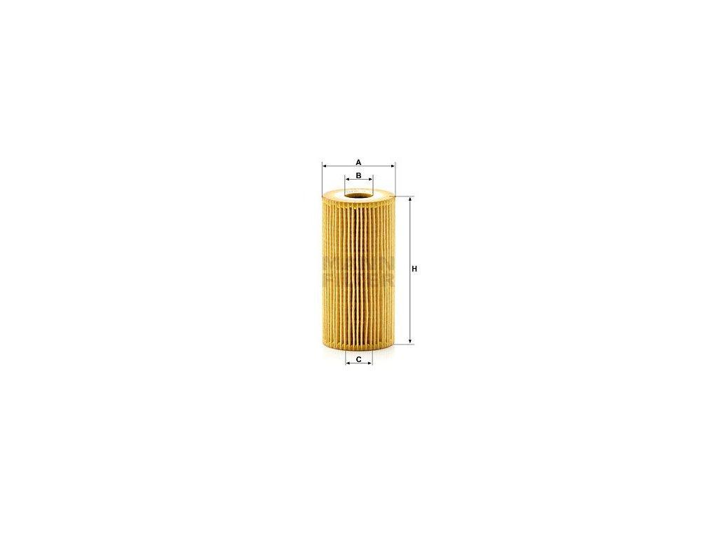 Olejový filtr MANN-FILTER HU 7027 z