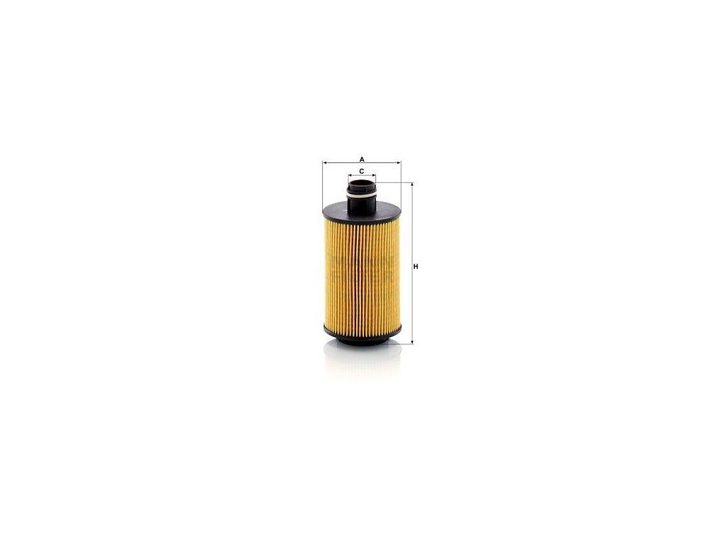 Olejový filtr MANN-FILTER HU 7030 z