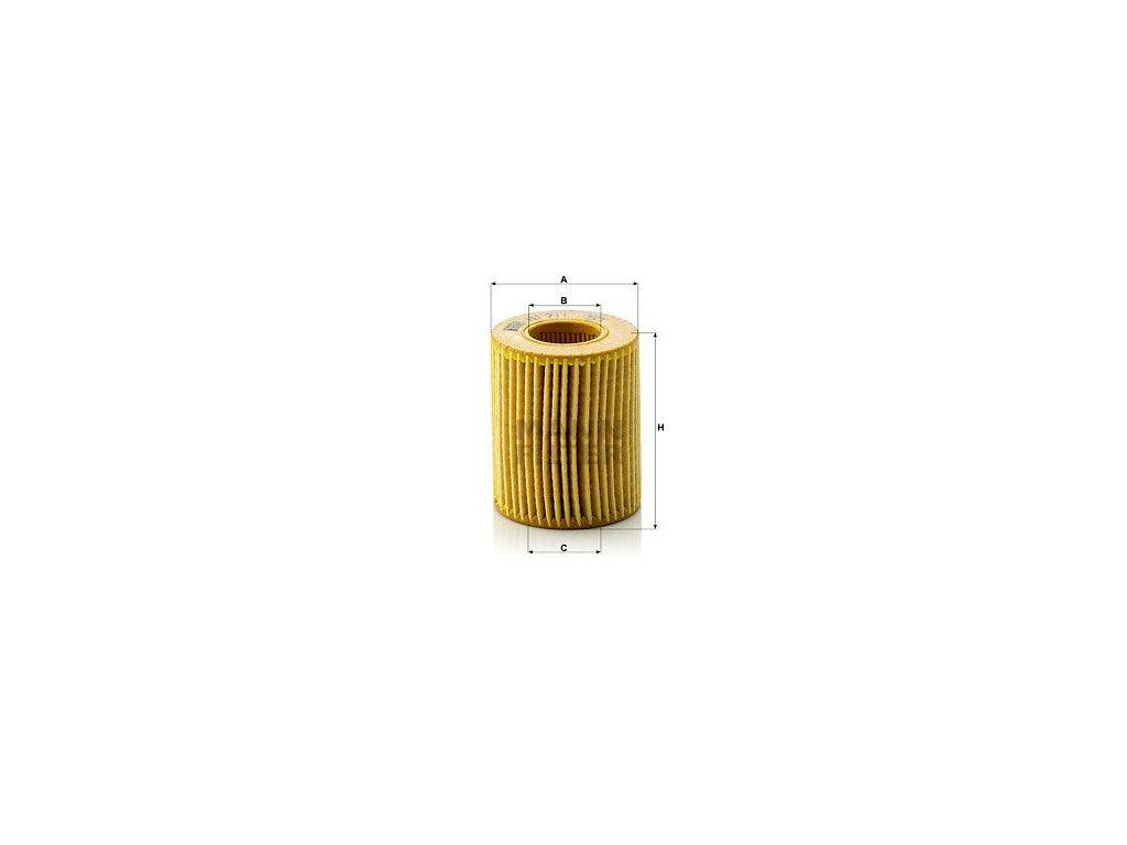 Olejový filtr MANN-FILTER HU 711 x