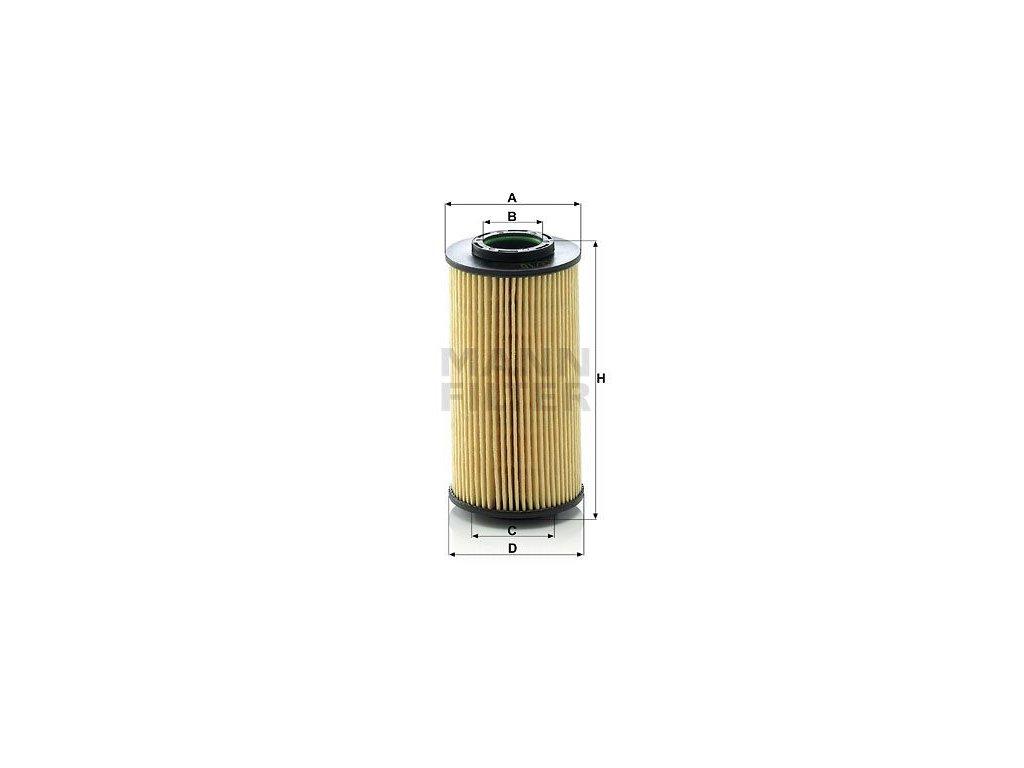 Olejový filtr MANN-FILTER HU 712/10 x
