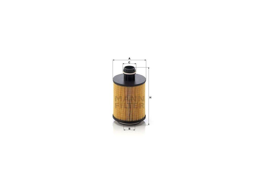 Olejový filtr MANN-FILTER HU 712/11 x
