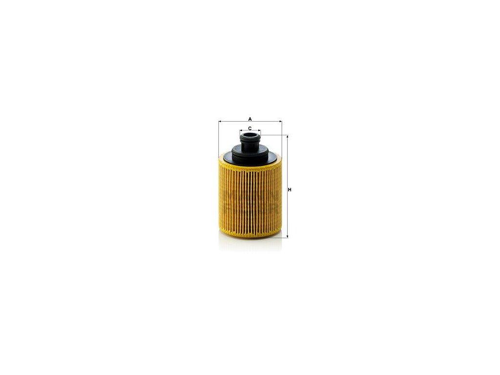 Olejový filtr MANN-FILTER HU 712/7 x