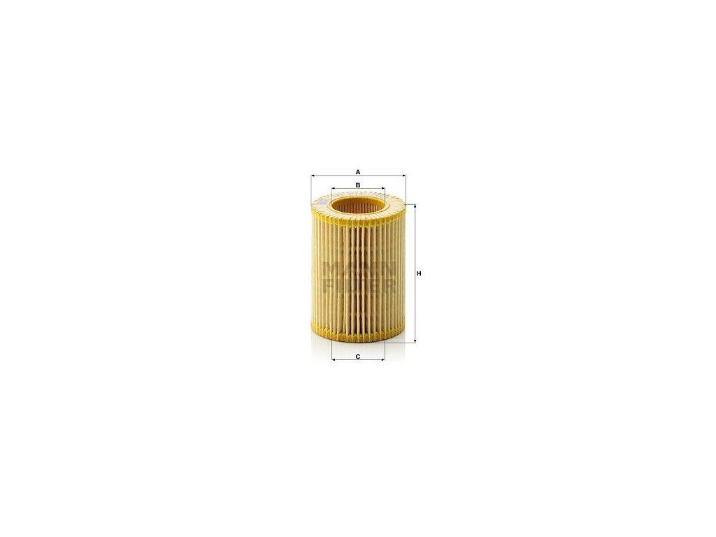 Olejový filtr MANN-FILTER HU 714 x