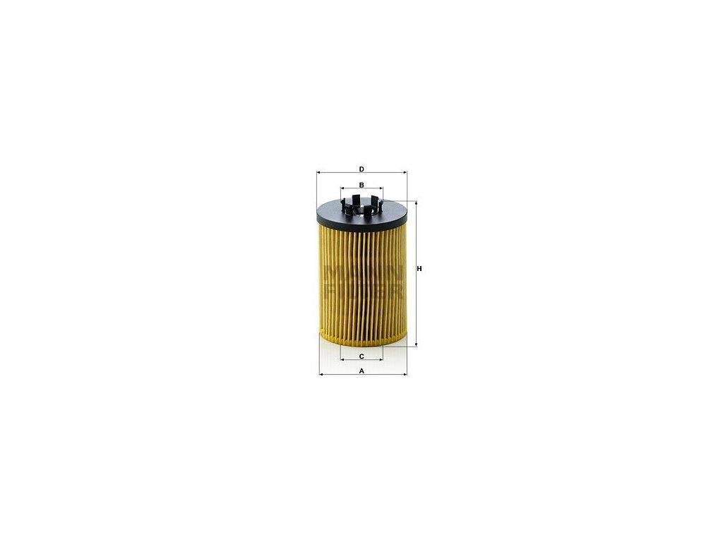 Olejový filtr MANN-FILTER HU 715/5 x