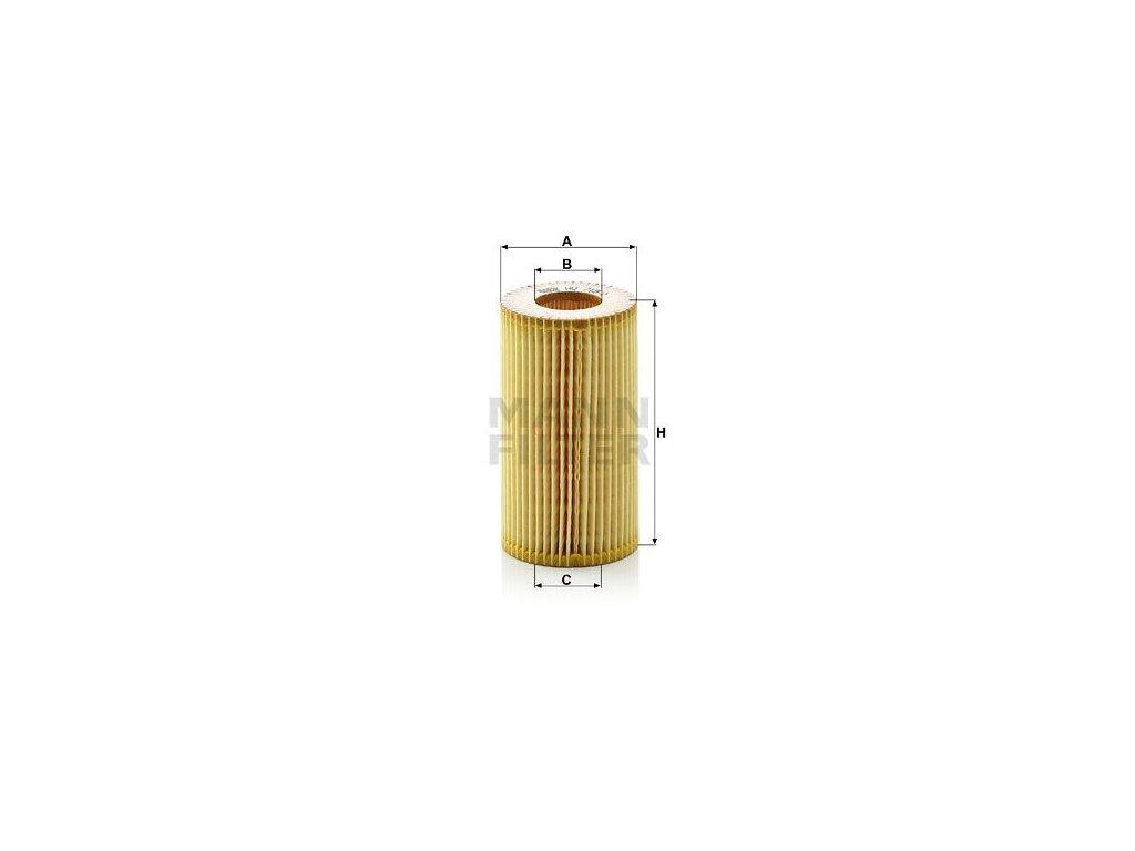 Olejový filtr MANN-FILTER HU 718/1 y