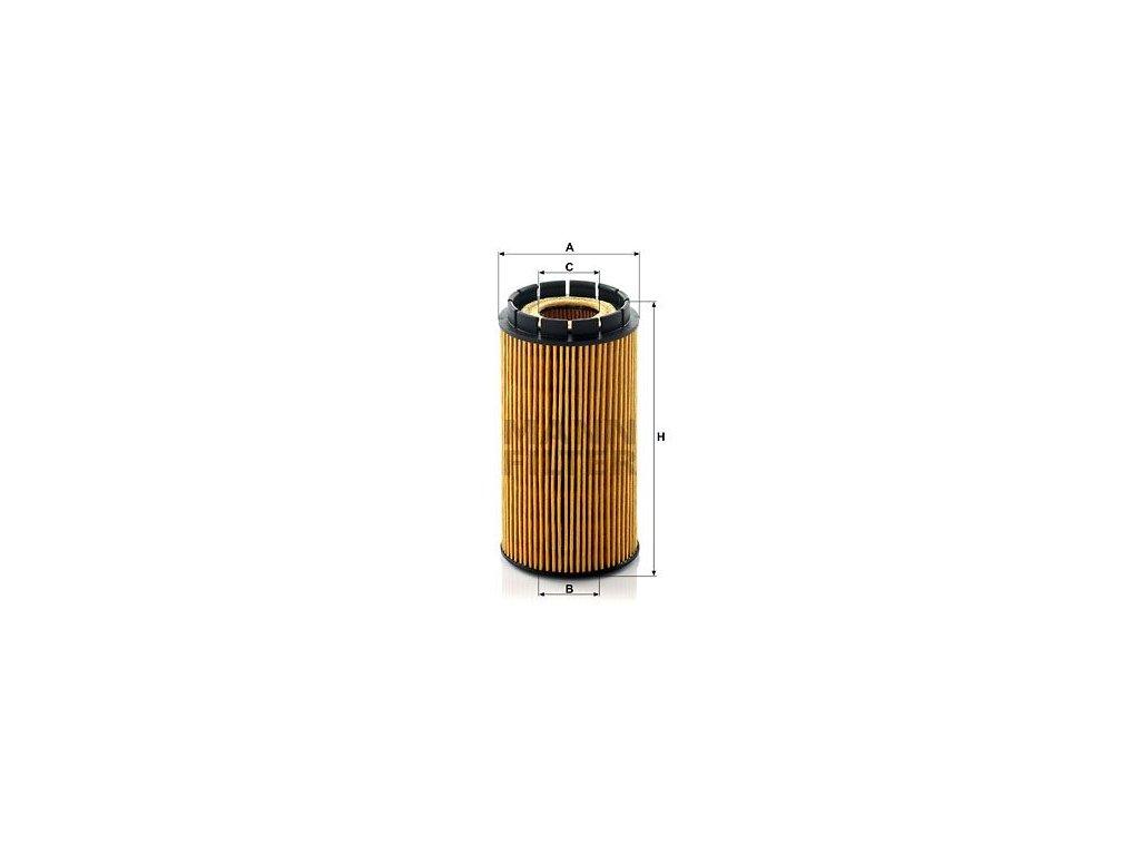 Olejový filtr MANN-FILTER HU 718/2 x
