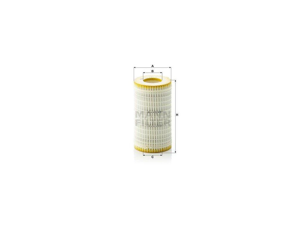Olejový filtr MANN-FILTER HU 718/5 x