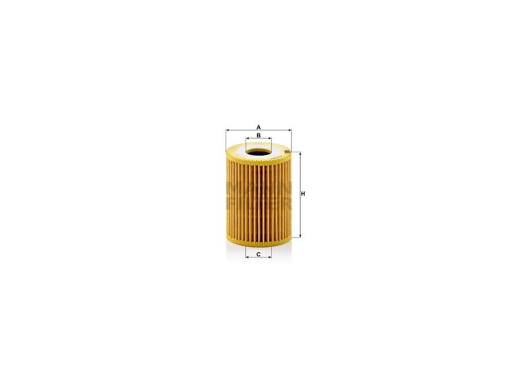 Olejový filtr MANN-FILTER HU 719/3 x