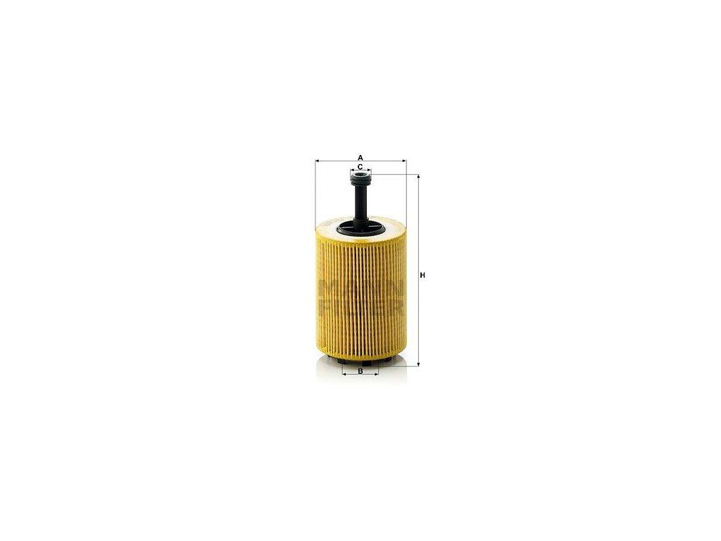 Olejový filtr MANN-FILTER HU 719/7 x