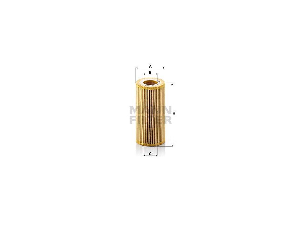 Olejový filtr MANN-FILTER HU 719/8 y