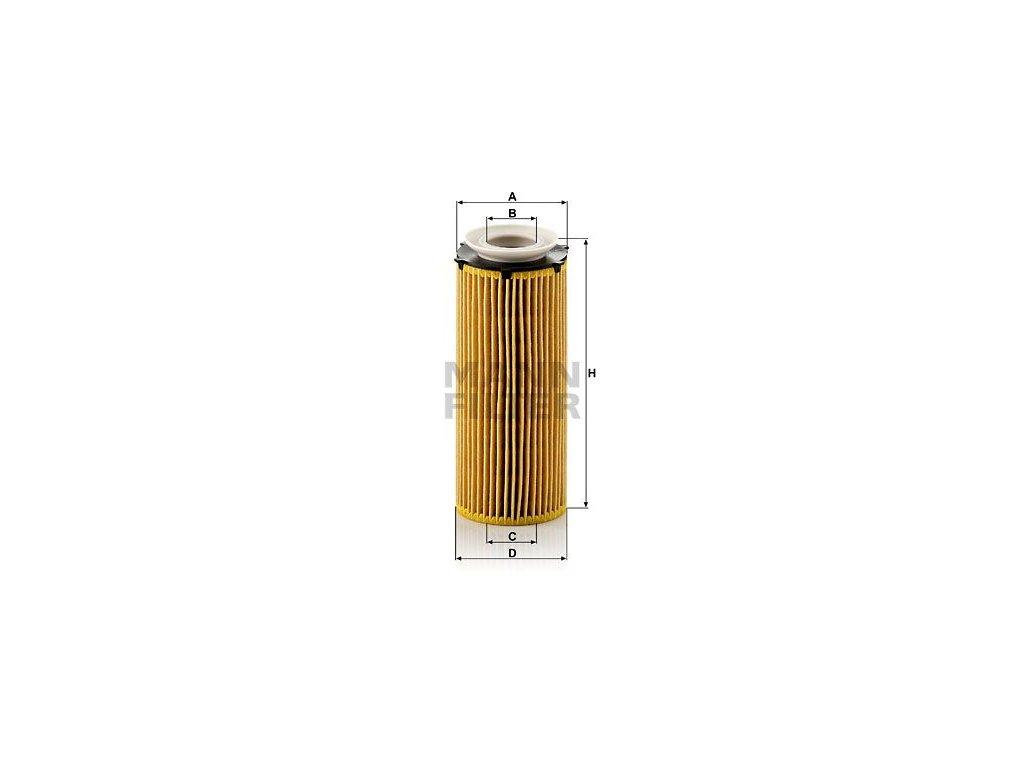 Olejový filtr MANN-FILTER HU 720/3 x