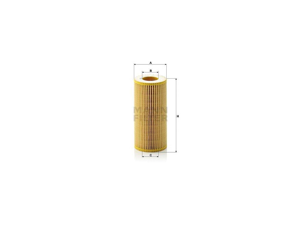 Olejový filtr MANN-FILTER HU 721/2 x