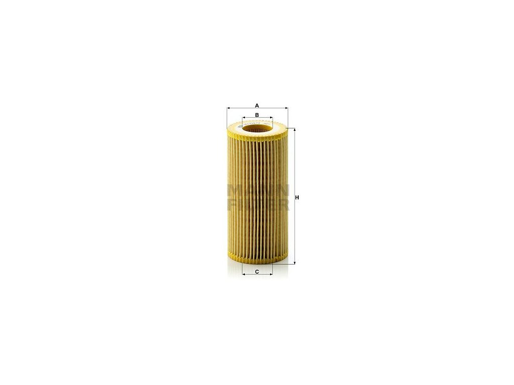 Olejový filtr MANN-FILTER HU 721/3 x