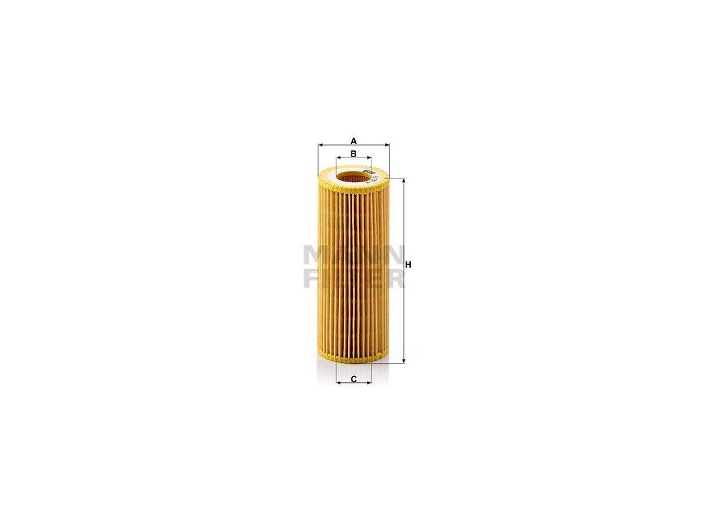 Olejový filtr MANN-FILTER HU 721/4 x