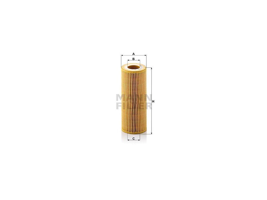 Olejový filtr MANN-FILTER HU 722 x
