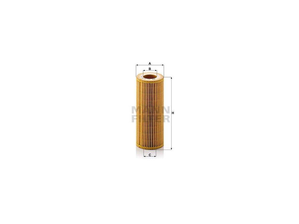 Olejový filtr MANN-FILTER HU 722 y