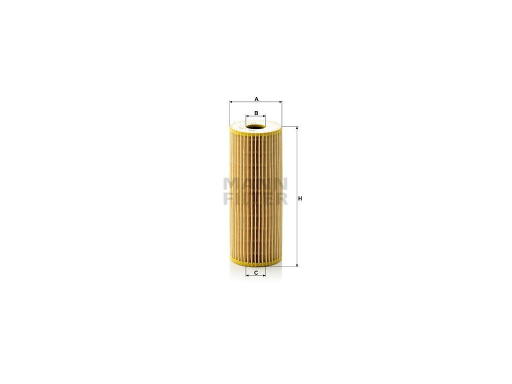 Olejový filtr MANN-FILTER HU 727/1 x