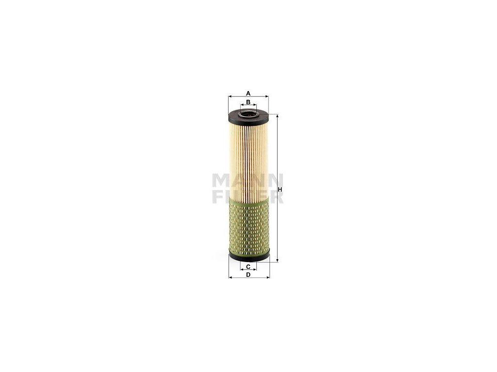 Olejový filtr MANN-FILTER HU 736 x