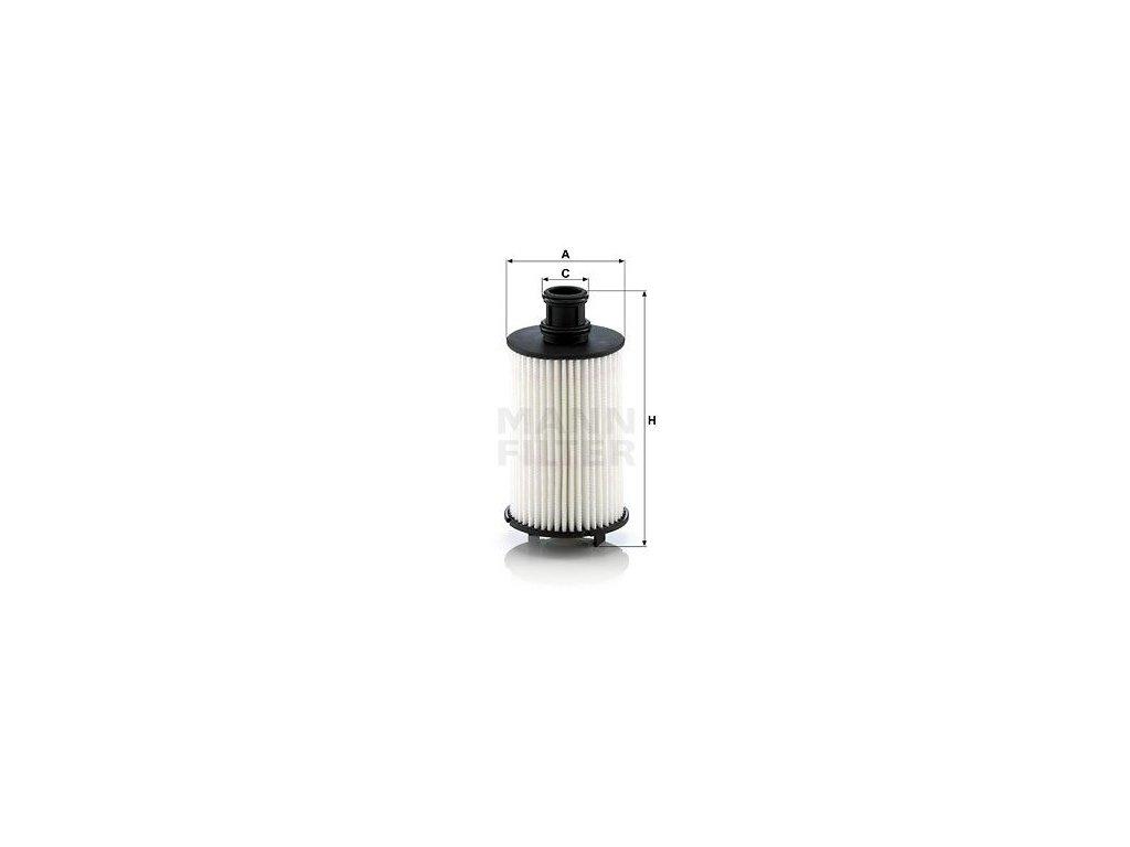 Olejový filtr MANN-FILTER HU 8008 z