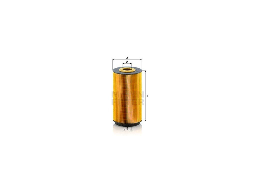 Olejový filtr MANN-FILTER HU 8010 z