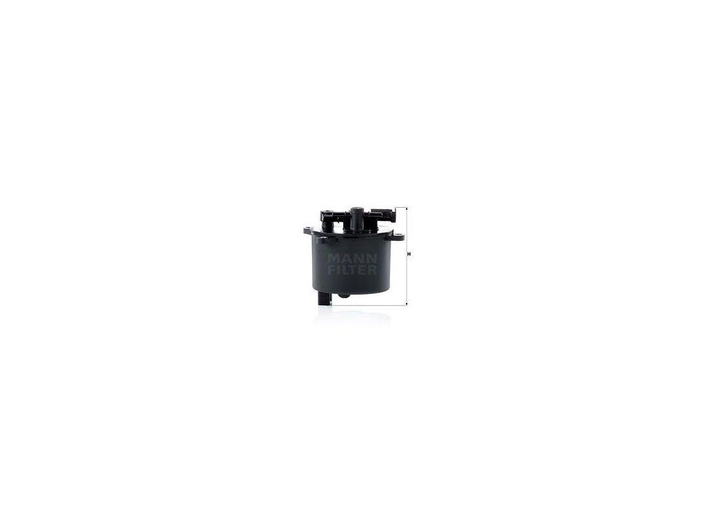 Palivový filtr MANN-FILTER WK 12 001