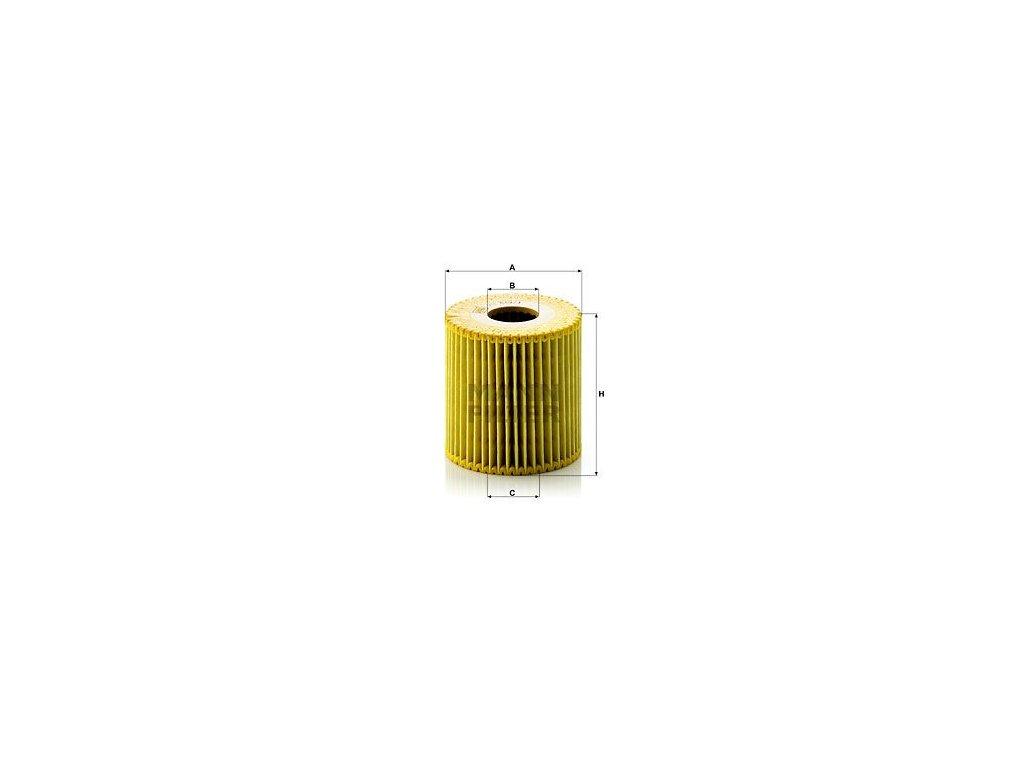 Olejový filtr MANN-FILTER HU 819/1 x