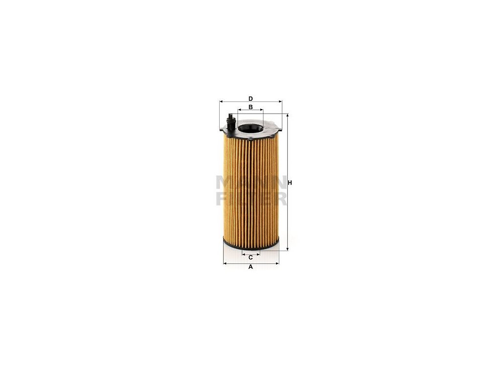Olejový filtr MANN-FILTER HU 820/2 x