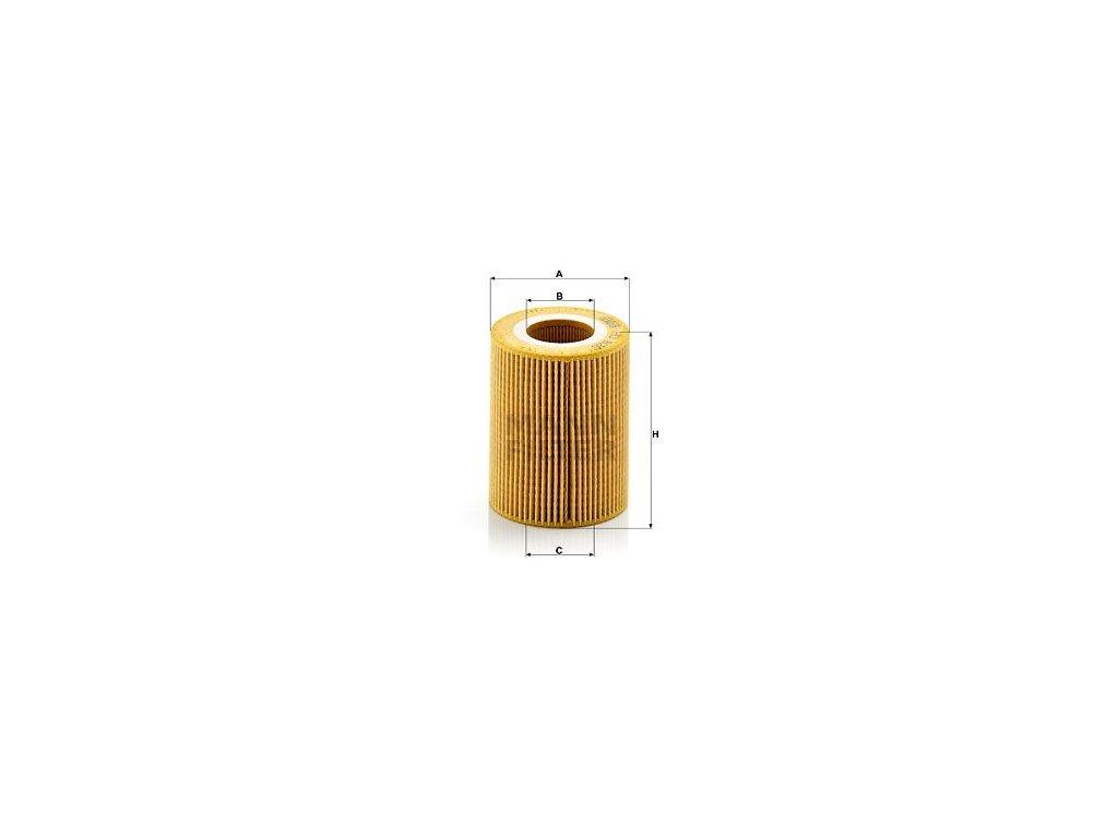Olejový filtr MANN-FILTER HU 826 x