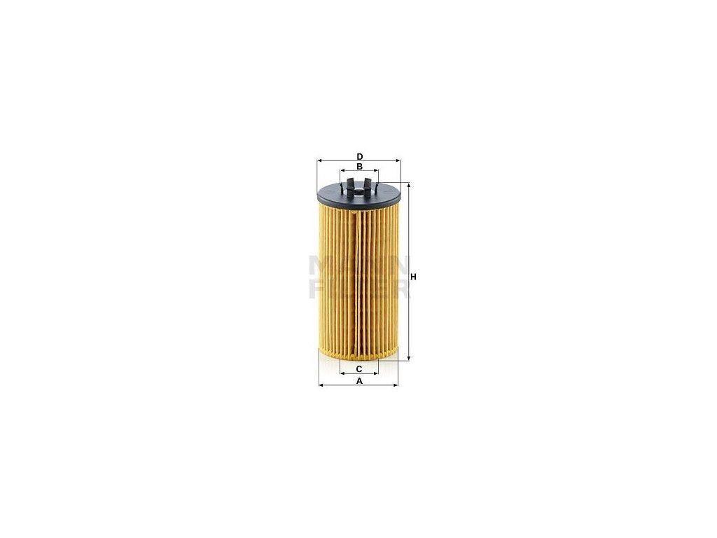 Olejový filtr MANN-FILTER HU 835/1 z