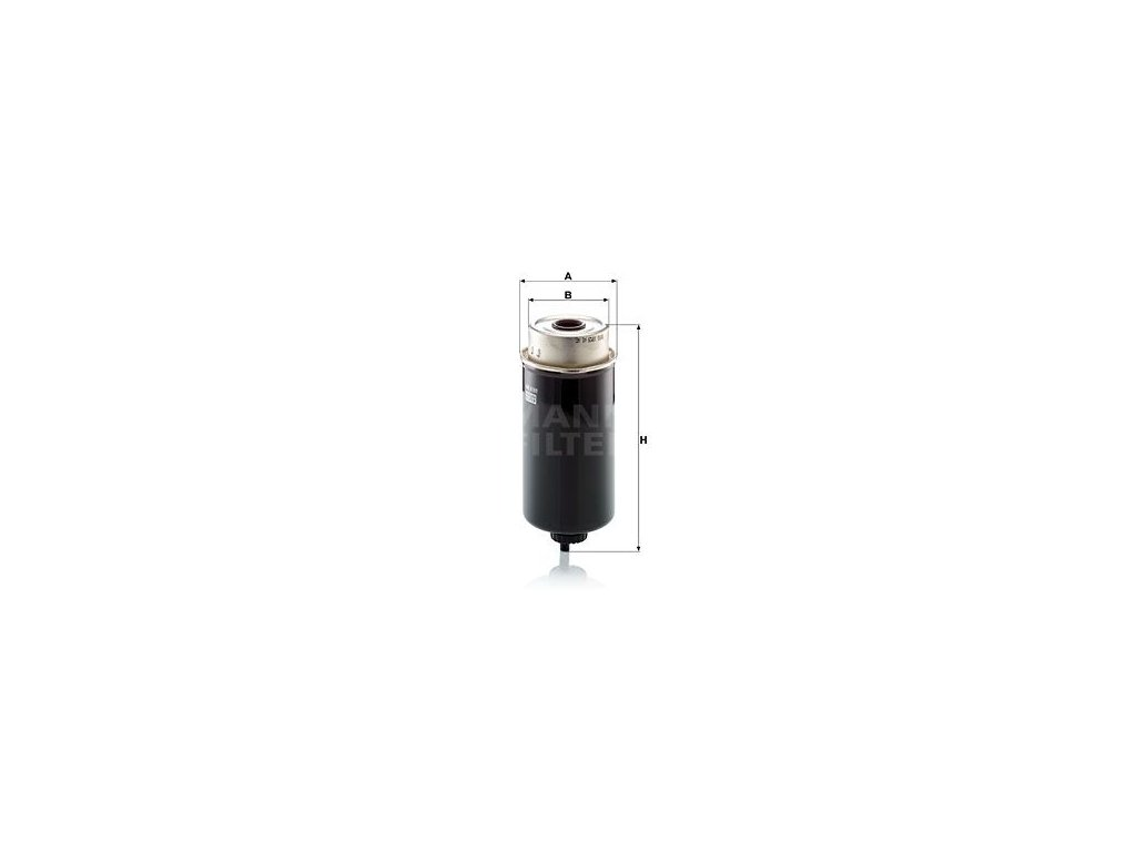 Palivový filtr MANN-FILTER WK 8161