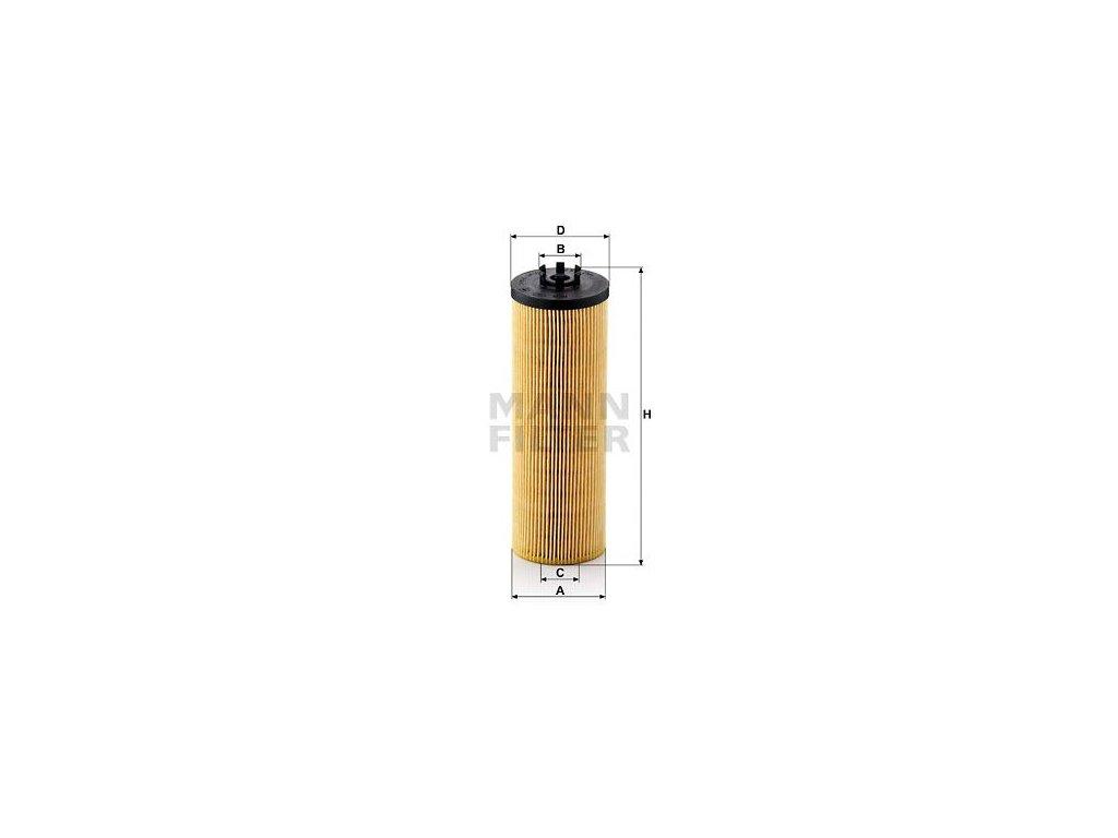 Olejový filtr MANN-FILTER HU 842 x