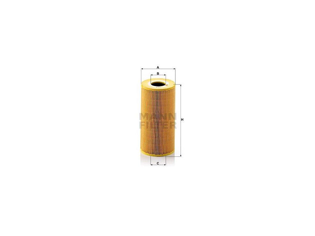 Olejový filtr MANN-FILTER HU 848/1 x