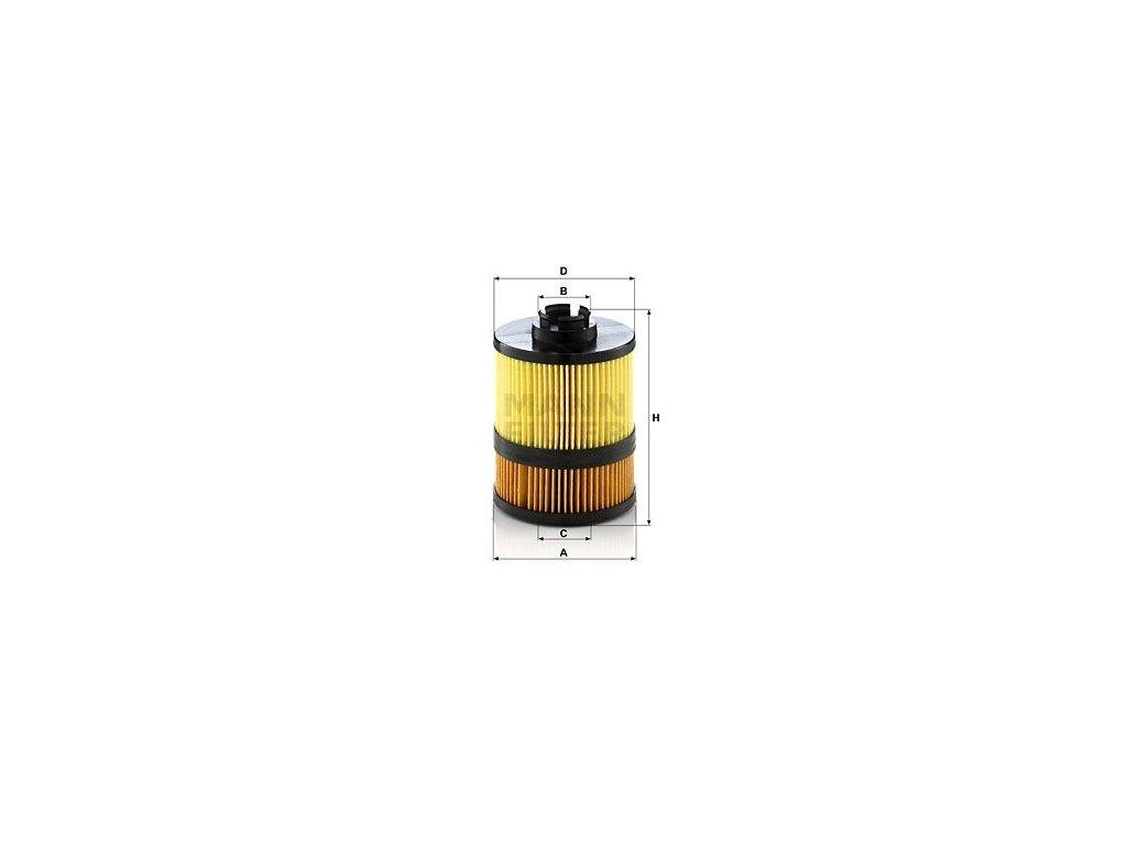 Olejový filtr MANN-FILTER HU 9002 z