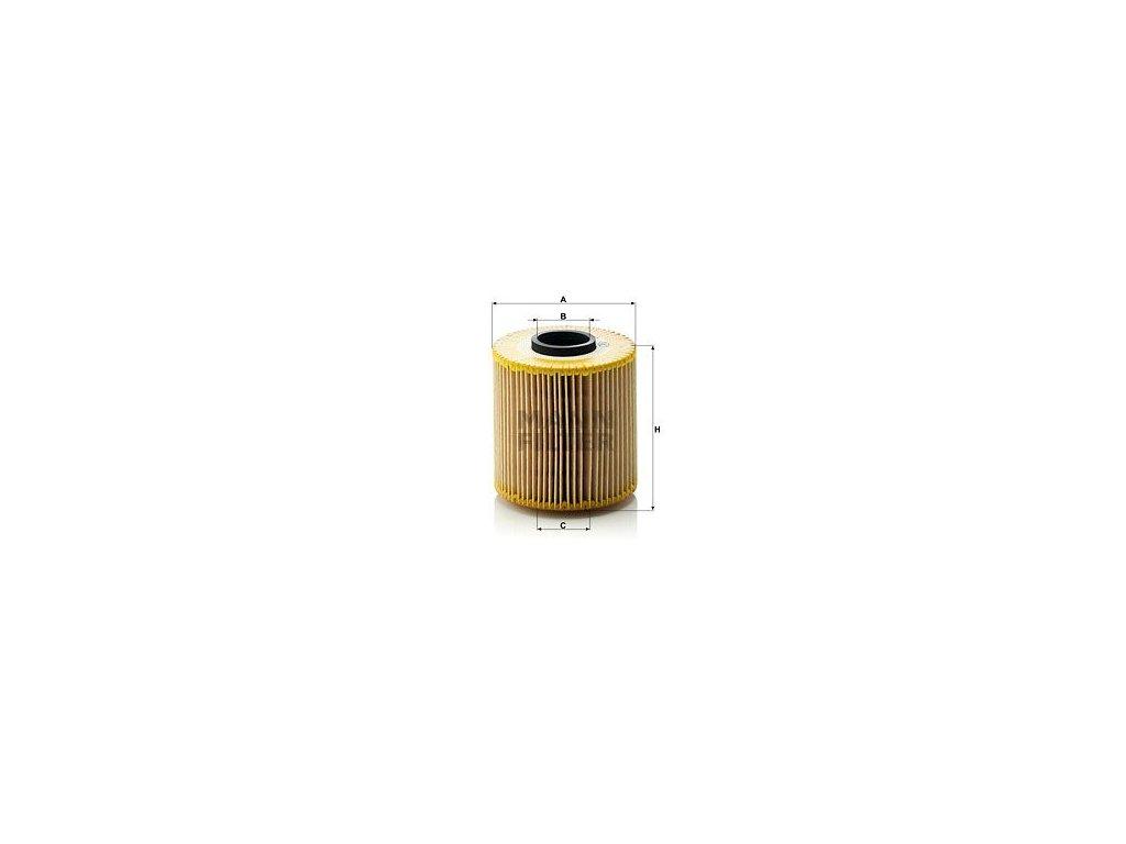 Olejový filtr MANN-FILTER HU 921 x