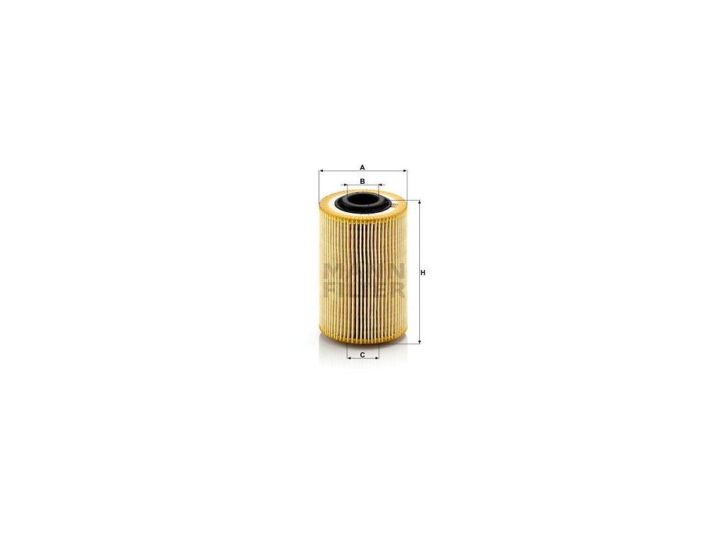 Olejový filtr MANN-FILTER HU 924/2 x