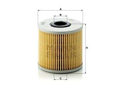 Olejový filtr MANN-FILTER H 1032/1 x