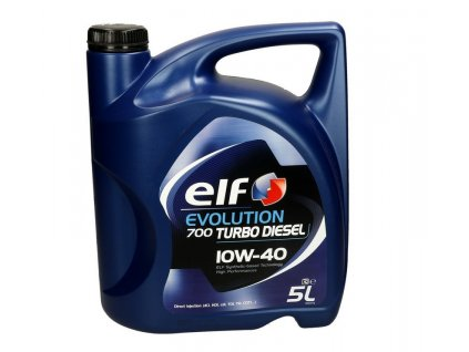 Elf Evolution 700 Turbo Diesel 10W 40 5 l