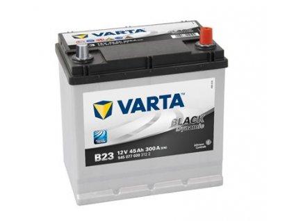 Startovací baterie VARTA BLACK dynamic 5450770303122