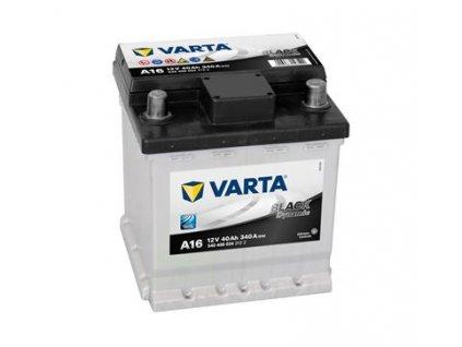 Startovací baterie VARTA BLACK dynamic 5404060343122