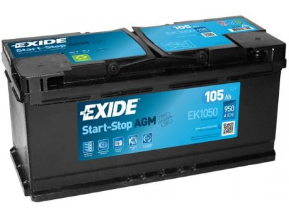 Startovací baterie EXIDE AGM EK1050